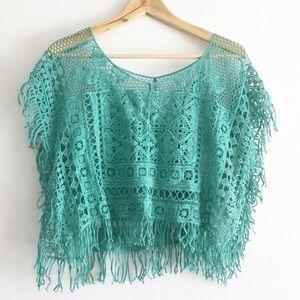 Handmade Crochet Boho Beach Top
